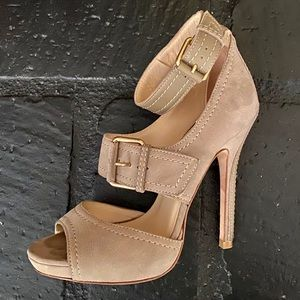 Jimmy Choo buckle strap heels